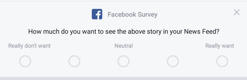 FacebookSurvey