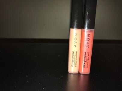 Avon Ultra Glazewear in Pale Peach and Citrus Shine