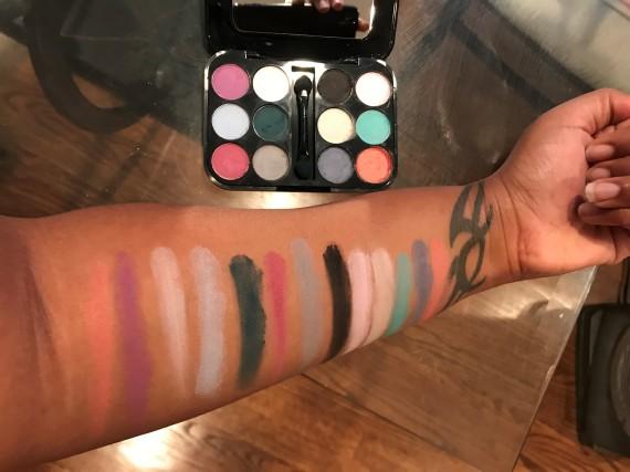 mark by Avon MOD POP Eyeshadow Palette Swatch
