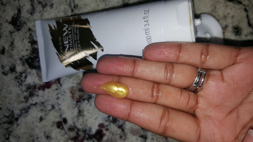 Perks of being Brand Ambassador: Avon Anew Ultimate Gold Mask