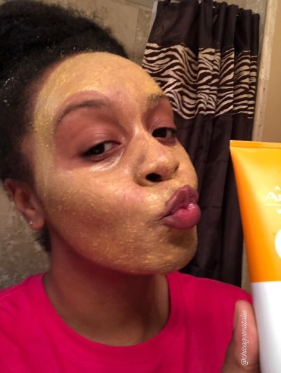 2nd Try with Anew Vitamin C Warming Peel Exfoliant