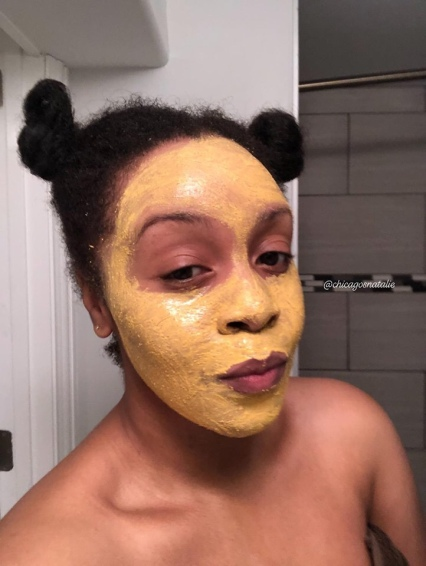 1st Try with Anew Vitamin C Warming Peel Exfoliant